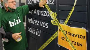 """Streiks im Online-Boom: """"Amazon soll zahlen"""""""