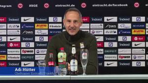 Das sagt Eintracht Frankfurts Trainer Adi Hütter zu möglichen Wintertransfers