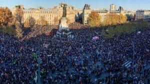 Nach Schockvideo: Tausende protestieren gegen Sicherheitsgesetz