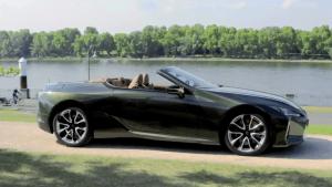 Neues Lexus LC Cabriolet - Exterieur Design