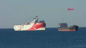 """Turkei beendet provokante Erdgassuche der """"Oruc Reis"""" in Mittelmeer"""