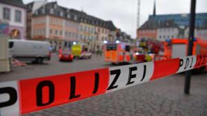 Tote in Trier: Auto rast durch Fußgängerzone