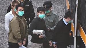 Aktivist Joshua Wong in Hongkong zu 13 Monaten Gefängnis verurteilt