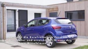 Der neue Dacia Sandero - Mehr Platz und Komfort im Innenraum