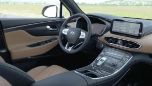 Der Hyundai Santa Fe - Neue hochwertige Optionen im Interieur