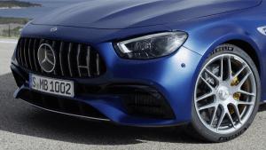 Der neue Mercedes-AMG E 63 S 4MATIC+ T-Modell - Neues Heckdesign vermittelt mehr Eleganz und Leichtigkeit