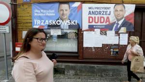 Vor der Stichwahl: Polen wählen neuen Präsidenten