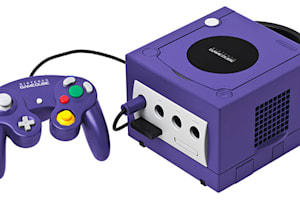 Purple Gamecube
