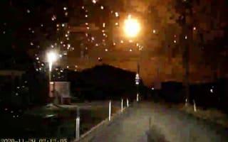 Brightly burning meteor seen across wide areas of Japan