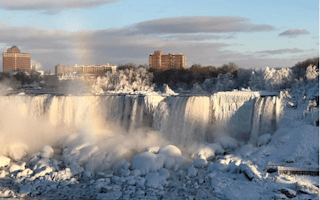 Niagara Falls Somehow Gets Even More Stunning In The Freezing Cold