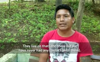Rare Amazon tribe caught on tape in Brazil