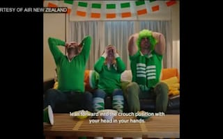 Air New Zealand pokes fun at Irish fans ahead of quarter-final