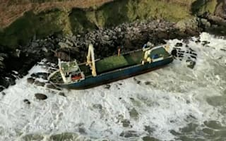 Ghost ship spotted on Irish coast after drifting for months