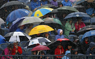 The Open Daily Diary: Celebrations, sombre reflections and rain... so much rain