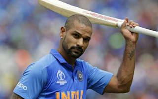 BREAKING NEWS: India lose batsman Dhawan for rest of World Cup campaign