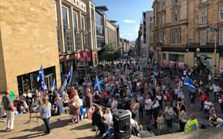 Hundreds protest in Glasgow against Boris Johnson's appointment