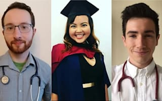 Student medics graduate early and join NHS frontlines to fight Covid-19
