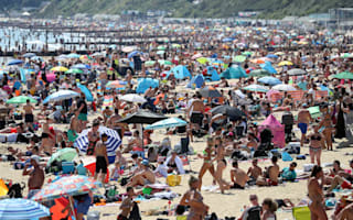 Temperatures around UK to plunge after days of hot sunshine