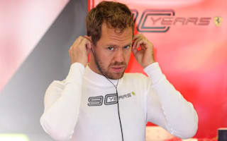 Sebastian Vettel sits out opening day of F1 testing due to illness