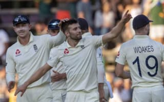 What happened on day two of the fourth Test between England and South Africa?