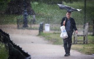 Cloud and rain forecast as temperatures drop
