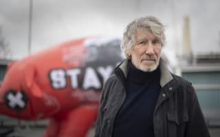 Roger Waters shows support for Julian Assange ahead of London rally