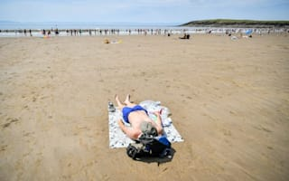 In Pictures: UK swelters for one day only