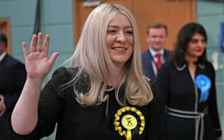 Amy Callaghan MP back on her feet after life-threatening brain haemorrhage