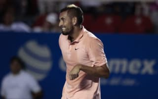 Kyrgios hits out at Mexican Open crowd after being booed off court