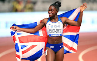 SPOTY contender Dina Asher-Smith hails unsung heroes of sport