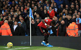 Fast-starting United stun City as Manchester derby marred by crowd trouble