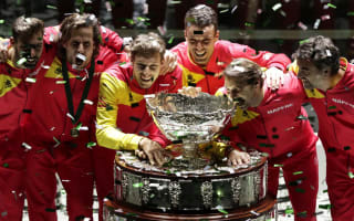 Nadal celebrates unforgettable Davis Cup victory for Spain