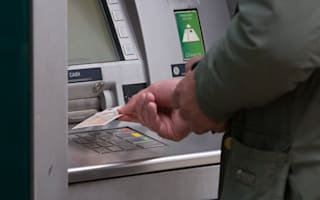 Cash machine withdrawals plunged as storms hit UK, says ATM network Link