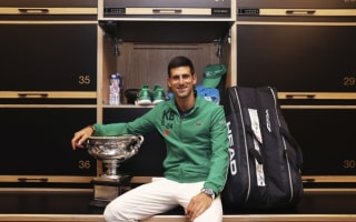 Djokovic closing in on Federer's records