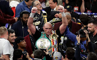 Bruno proud of 'inspirational' Fury following brilliant win over Wilder