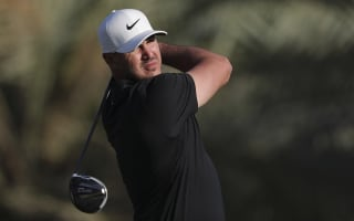 Brooks Koepka in contention on return from injury in Abu Dhabi