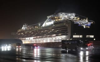 Stranded Britons waiting to be flown home from coronavirus-hit cruise ship
