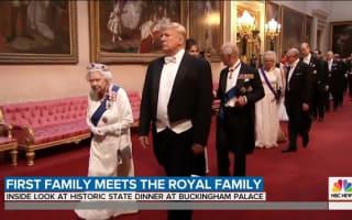 トランプ米大統領、バッキンガム宮殿で行われた晩餐会での服装に「サイズが合ってない」との声殺到