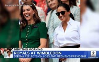 英キャサリン妃とメーガン妃が、揃って仲良くウィンブルドン女子シングルス決勝を観戦!