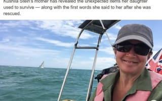 ゴムボートで2日間漂流していた女性が無事救助!あめ玉のみで空腹をしのぐ
