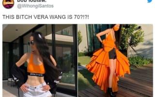 米ファッションデザイナーのヴェラ・ウォン、引き締まった腹筋を見せつけ「70歳には見えない」と話題に