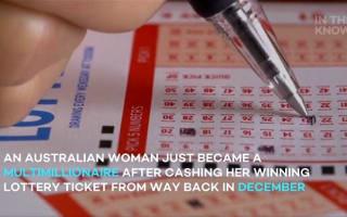 ハンドバックから出てきた昨年末の宝くじ券を確認したら・・・約1億9000万円当選していた事が判明!