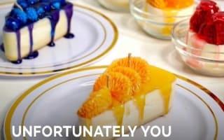 まるで本物!チーズケーキそっくりなキャンドル【映像】