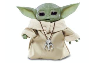 Hasbro's flurry of 'The Mandalorian' toys includes an animatronic Baby Yoda