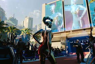 Grimes details her character's backstory in 'Cyberpunk 2077'