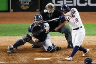 A machine-learning system may have predicted the World Series winner