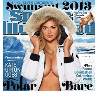 Kate Upton lands Sports Illustrated swimsuit cover for a second time