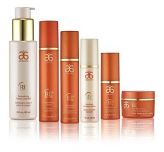 GIVEAWAY: Deluxe Arbonne RE9 Advanced skincare set - AOL