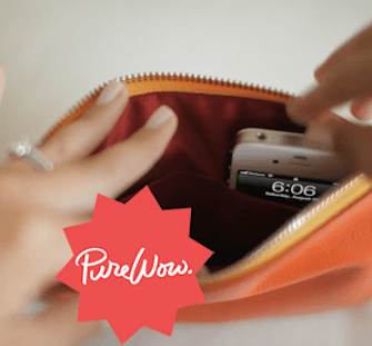 A clutch that charges your phone