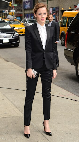 Top 9 at 9: Emma Watson sizzles in a Saint Laurent tux, plus more fashion news